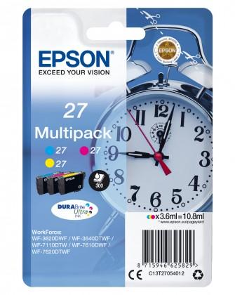 Náplně a tonery - originální Cartridge Epson C13T27054012,multipack,Tri-color