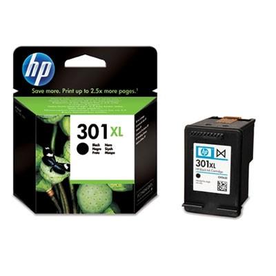 Náplně a tonery - originální Cartridge HP 301XLBLA, 301XL, černá