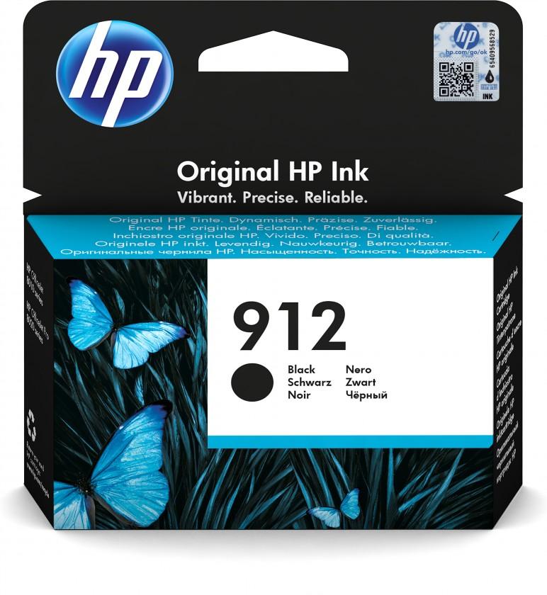 Náplně a tonery - originální Cartridge HP 3YL80AE, 912, černá