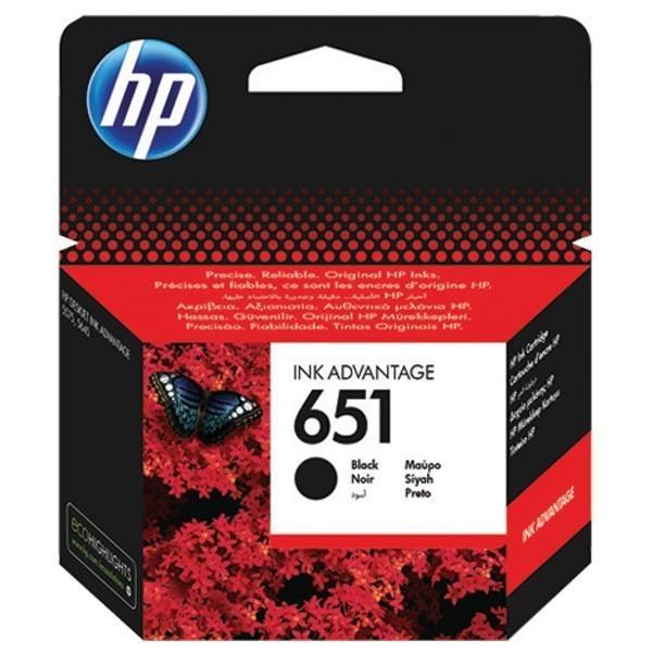 Náplně a tonery - originální Cartridge HP C2P10AE, 651, černá