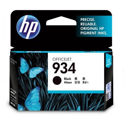 Náplně a tonery - originální Cartridge HP C2P19AE, 934, černá