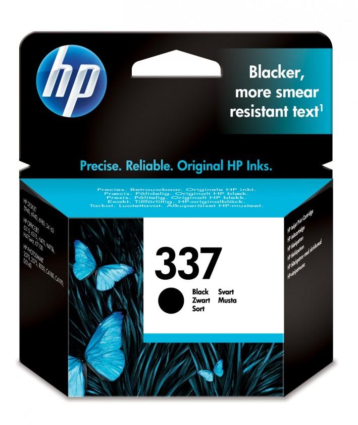Náplně a tonery - originální Cartridge HP C9364EE, 337, černá