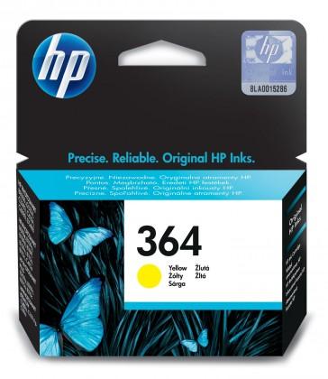Náplně a tonery - originální Cartridge HP CB320EE, 364, žlutá