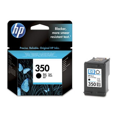 Náplně a tonery - originální Cartridge HP CB335EE, 350, černá