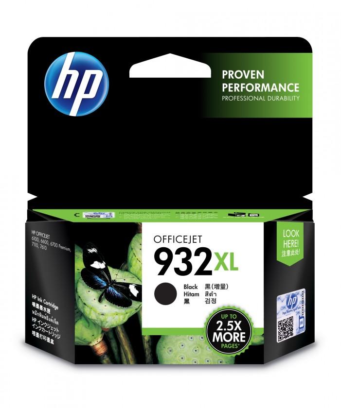 Náplně a tonery - originální Cartridge HP CN053AE, 932XL, černá
