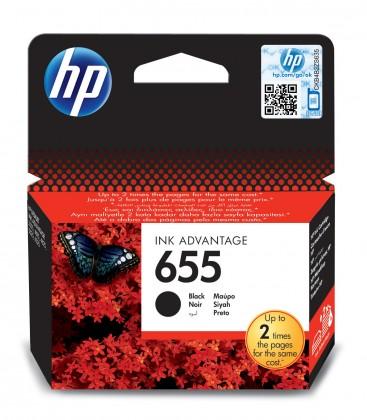 Náplně a tonery - originální Cartridge HP CZ109AE, 655, černá