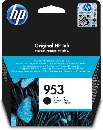Náplně a tonery - originální Cartridge HP L0S58AE, 953, černá