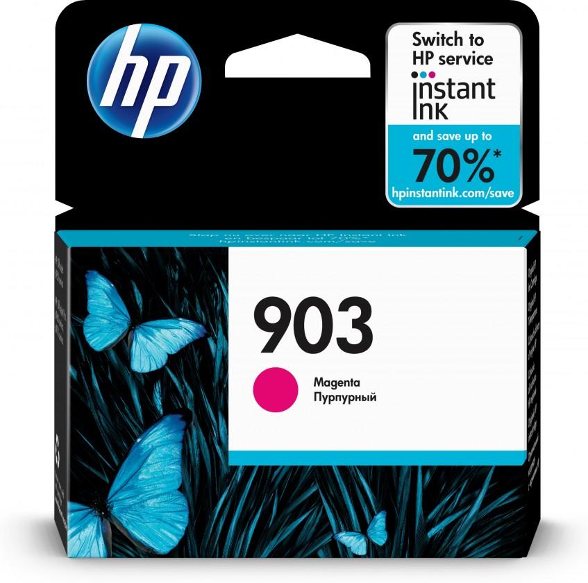 Náplně a tonery - originální Cartridge HP T6L91AE, 903, purpurová