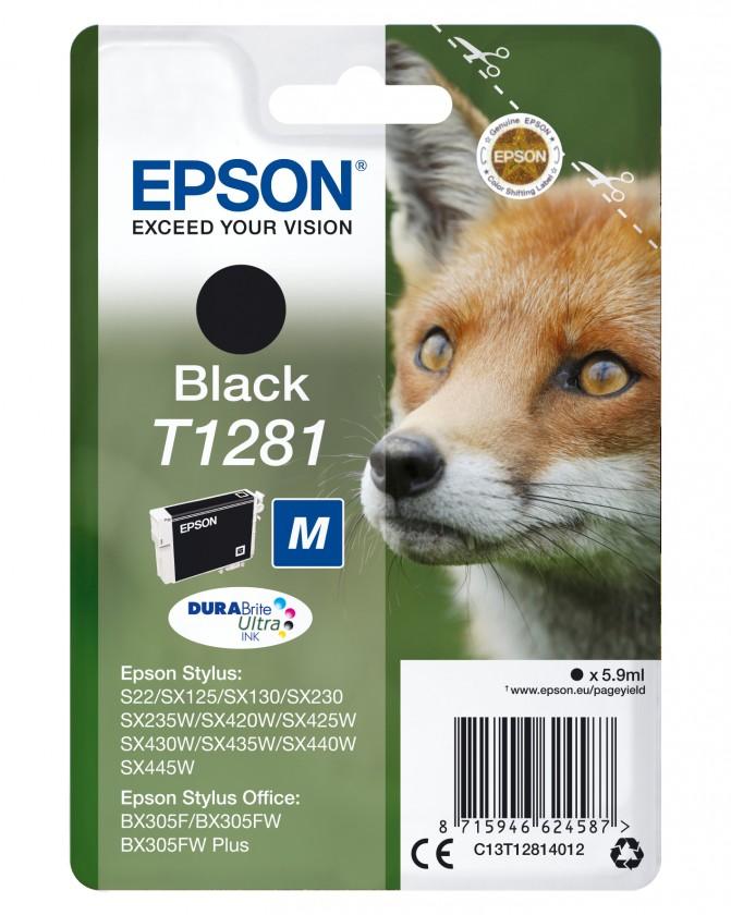 Náplně a tonery - originální Epson T1281 - originální