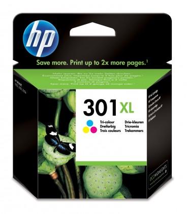 Náplně a tonery - originální HP 301XL tříbarevná (CH564EE)