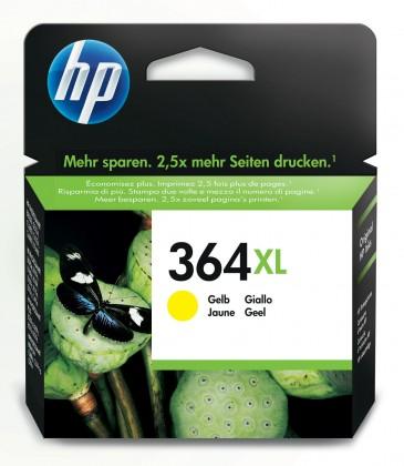 Náplně a tonery - originální HP 364 XL žlutá (CB325EE)
