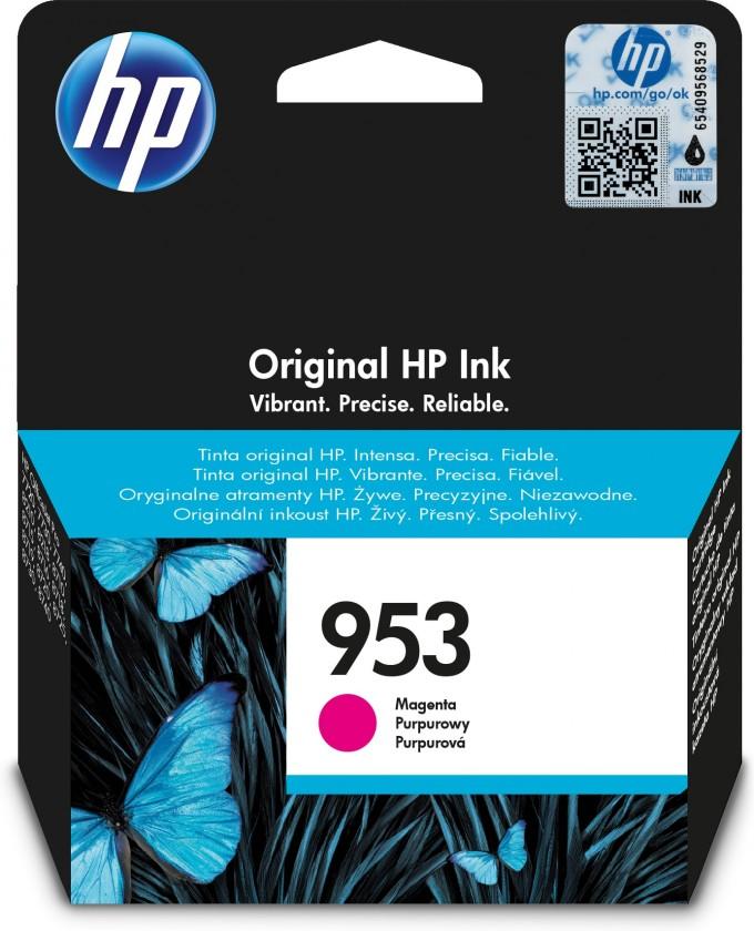 Náplně a tonery - originální HP 953 (F6U13AE), magenta