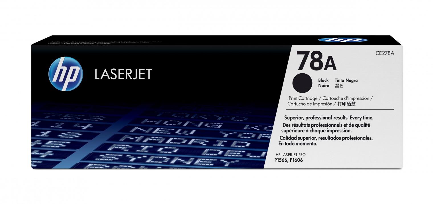 Náplně a tonery - originální HP tisková kazeta CE278A, černá
