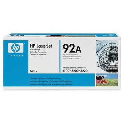 Náplně a tonery - originální HP Ultraprecise toner C4092A, černá