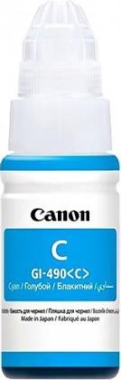 Náplně a tonery - originální Inkoust Canon GI-490 C, azurová
