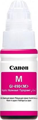 Náplně a tonery - originální Inkoust Canon GI-490 M, purpurová