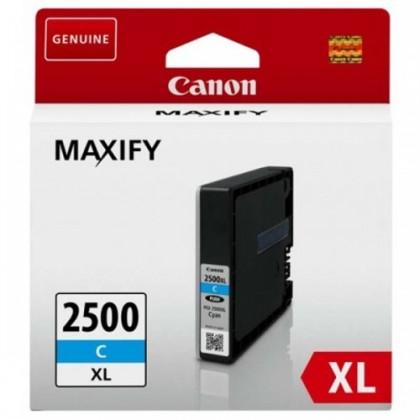 Náplně a tonery - originální Inkoust Canon PGI-2500XL C, azurová