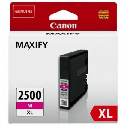 Náplně a tonery - originální Inkoust Canon PGI-2500XL M, purpurová