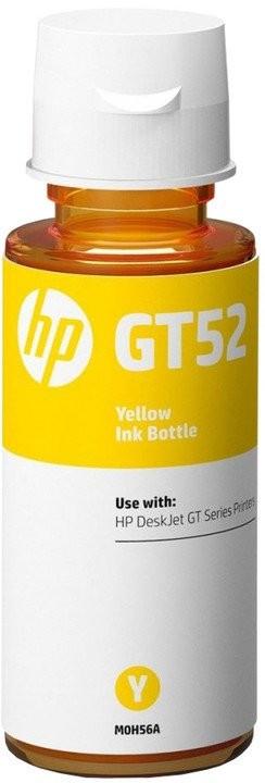 Náplně a tonery - originální Inkoust HP M0H56AE, GT52, žlutá