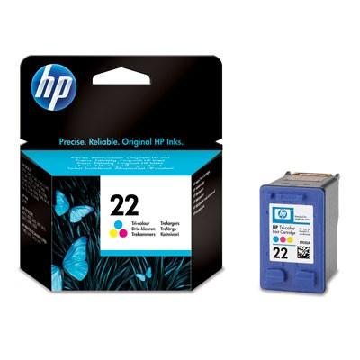 Náplně a tonery - originální Inkoustová kazeta Hewlet-Packard HP22 černá