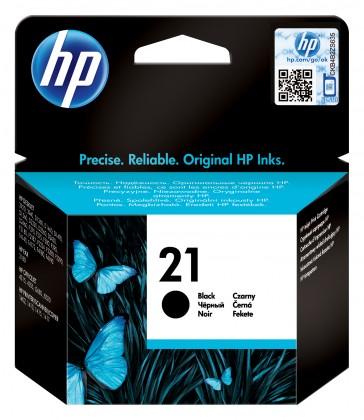 Náplně a tonery - originální Inkoustová kazeta Hewlett-Packard HP21 černá