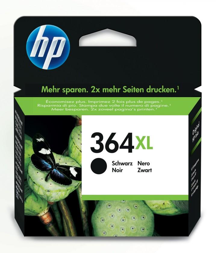 Náplně a tonery - originální Inkoustová kazeta HP 364XL černá