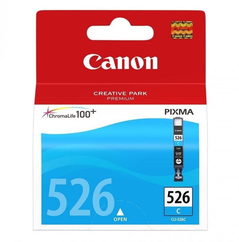 Náplně a tonery - originální Originální azurová cartridge Canon CLI-526 C