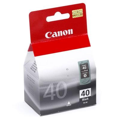 Náplně a tonery - originální Originální černá cartridge Canon black PG-40 0615B001