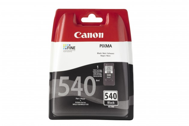Náplně a tonery - originální Originální černá cartridge Canon PG-540