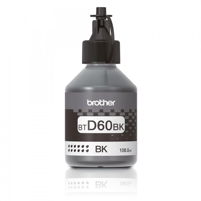 Náplně a tonery - originální Originální černá inkoustová náplň BTD60BK