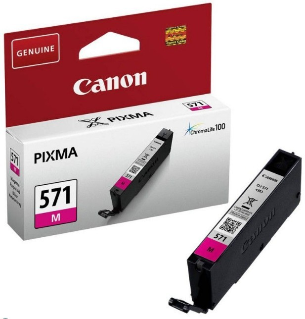 Náplně a tonery - originální Originální fialová cartridge Canon CLI-571M