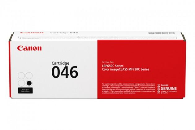 Náplně a tonery - originální Toner Canon 046 BK,černá