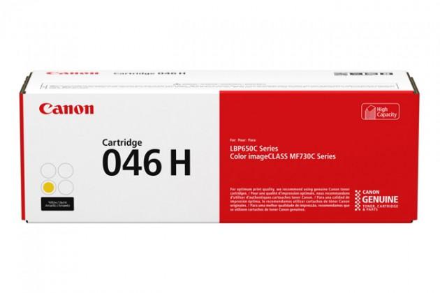 Náplně a tonery - originální Toner Canon 046 H, žlutá