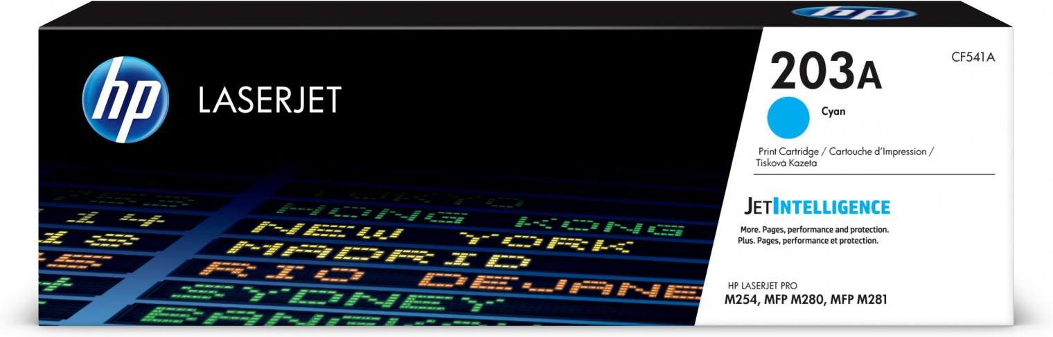 Náplně a tonery - originální Toner HP CF540A, 203A, černá