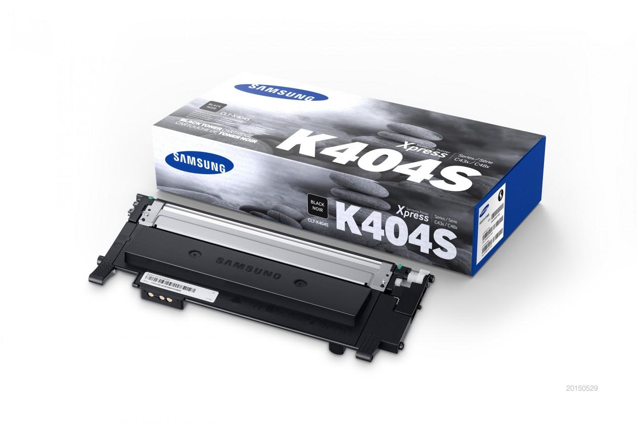 Náplně a tonery - originální Toner Samsung CLT-K404S, černá