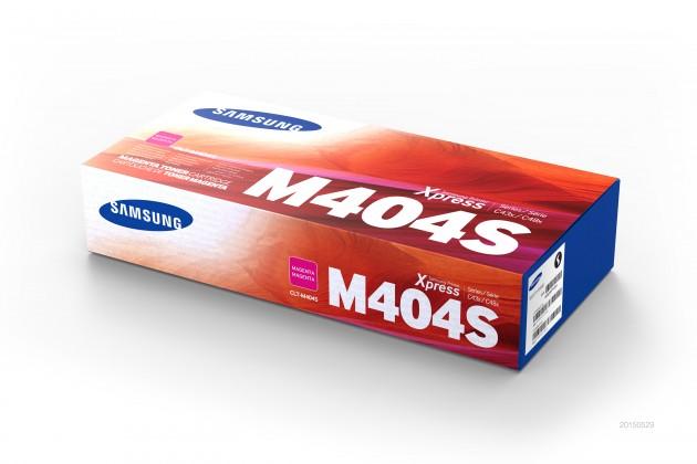 Náplně a tonery - originální Toner Samsung CLT-M404S, purpurová