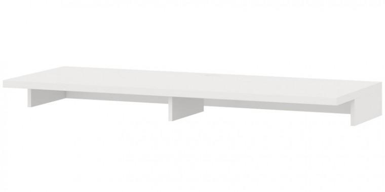 Nástavec na TV stolek Cino - Typ 64 (bílá arctic)
