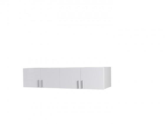 Nástavec Snow - 4D (bílá/bílá vysoký lesk)
