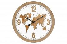 Nástěnné hodiny - H14, MDF, kov