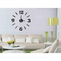Nástěnné hodiny - H18, 50 cm, černá