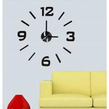 Nástěnné hodiny - H21, 50 cm, černá