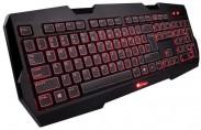 Natec herní klávesnice Genesis RX22, US, podsvícení