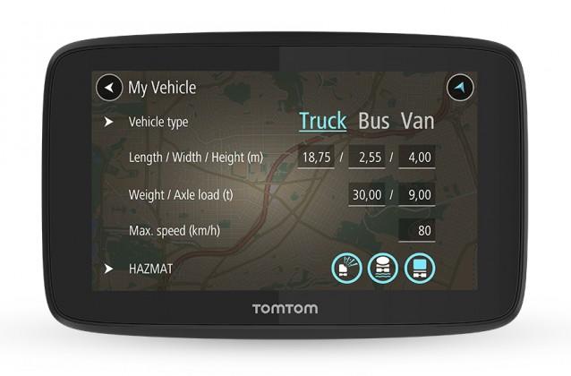 Navigační systém GPS Tomtom 520 (1PN5.002.07) černá