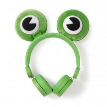 NEDIS sluchátka pro děti Žába