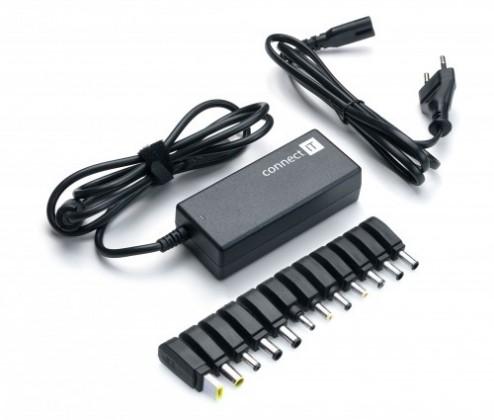 Neoriginální nabíječky CONNECT IT CI-133 Notebook Power 90W (CI-133) OBAL POŠKOZEN