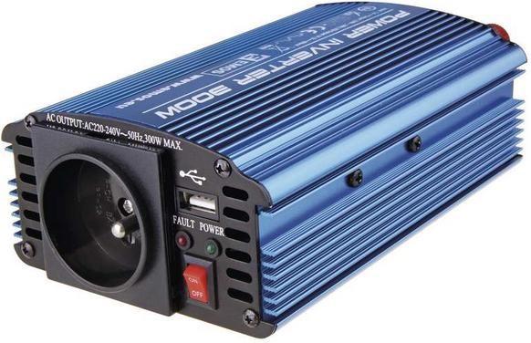 Neoriginální nabíječky Emos N0032, měnič napětí 12V/230V, 300W ROZBALENO