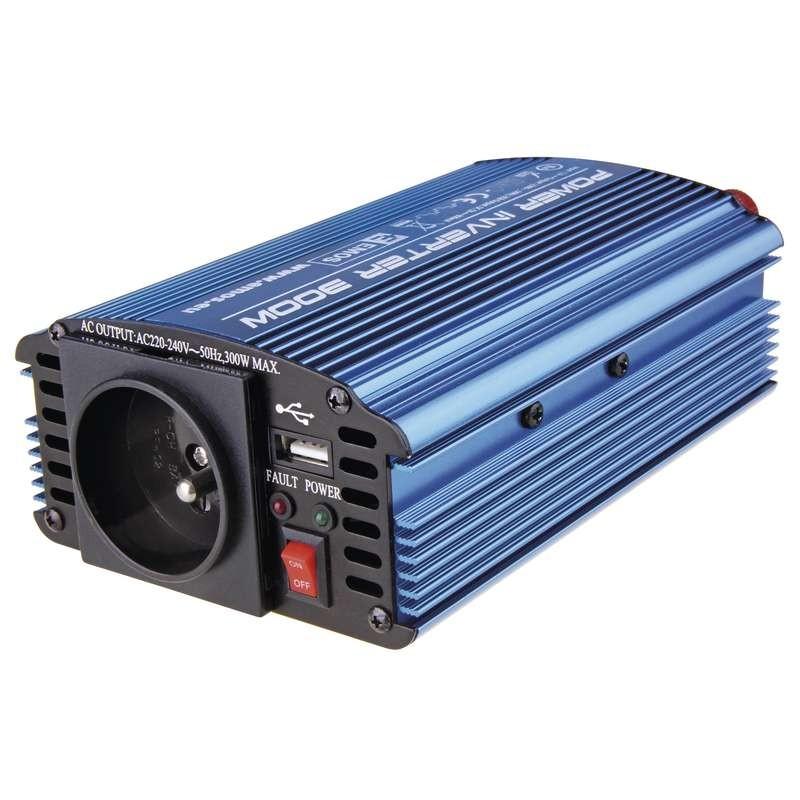 Neoriginální nabíječky Emos N0032, měnič napětí 12V/230V, 300W