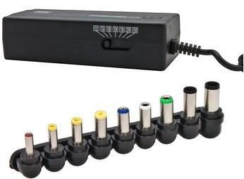 Neoriginální nabíječky Esperanza EZ101 Univerzální napájecí adaptér pro notebooky 80W