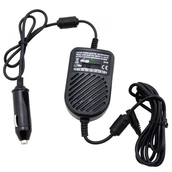 Neoriginální nabíječky Esperanza EZ103 Univ.adaptér pro NTB 80W do auta , 11-14 V ROZBAL