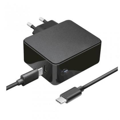 Neoriginální nabíječky Nabíječka Trust Maxo 61W, pro Apple MacBook, 2 m, černá